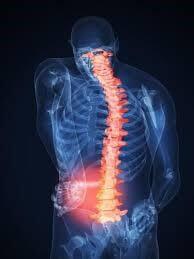 Боли связаны с перегрузкой позвоночника