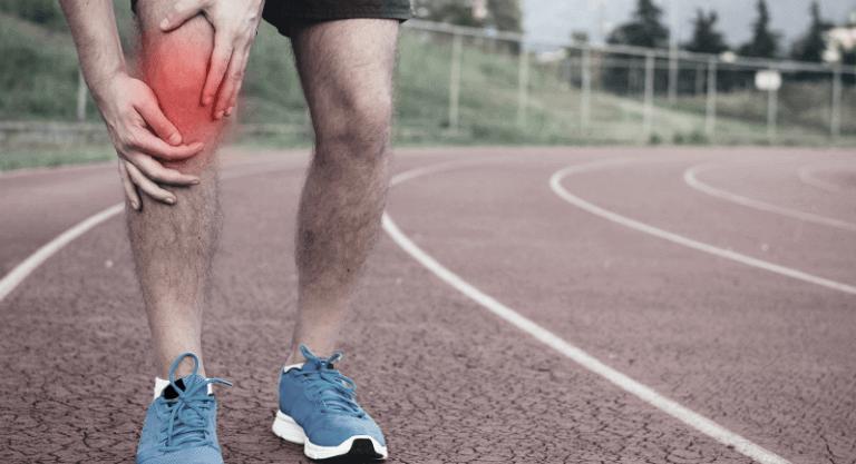 Больв колене после бега